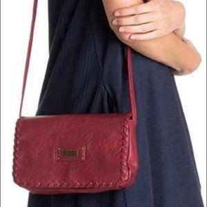 ROXY Red Plum Lazer Crossbody Bag